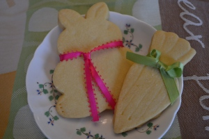 Cookies with ribbon